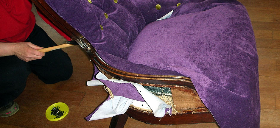 learn how to upholster classes